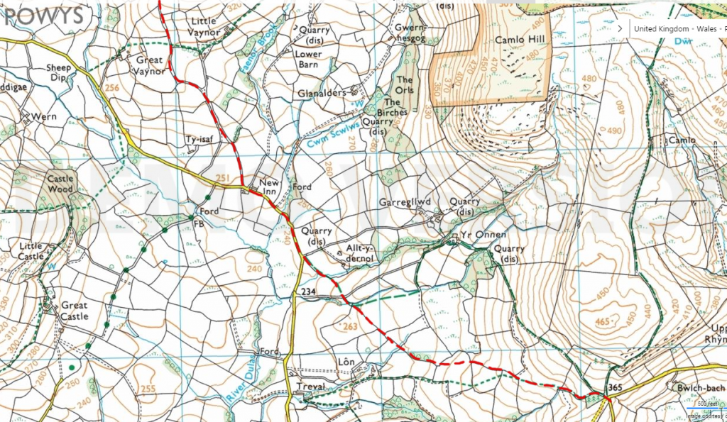 the-old-road-nantmel-os-map